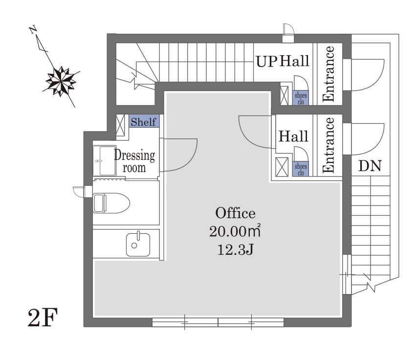 (仮)神宮前3丁目SHM2F(事務所)