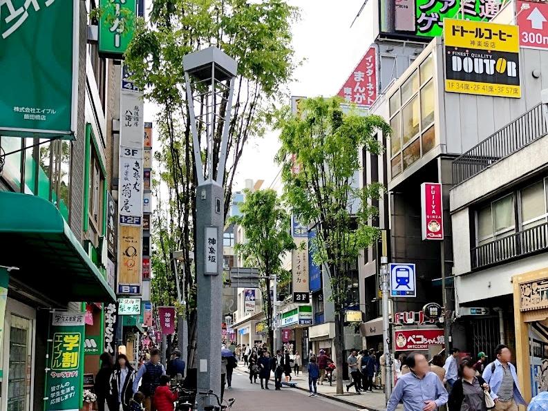 神楽坂商店街-2