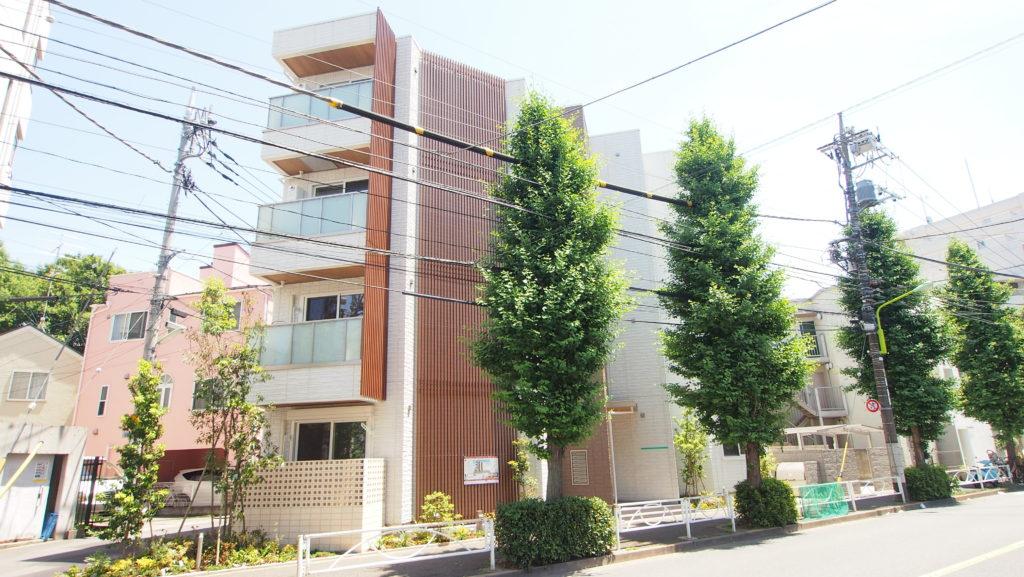 コンフォーザ駒沢公園外観2